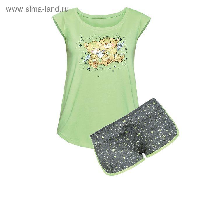 Пижама женская, цвет зелёный, размер 46 (M) (арт. PVH682/1)