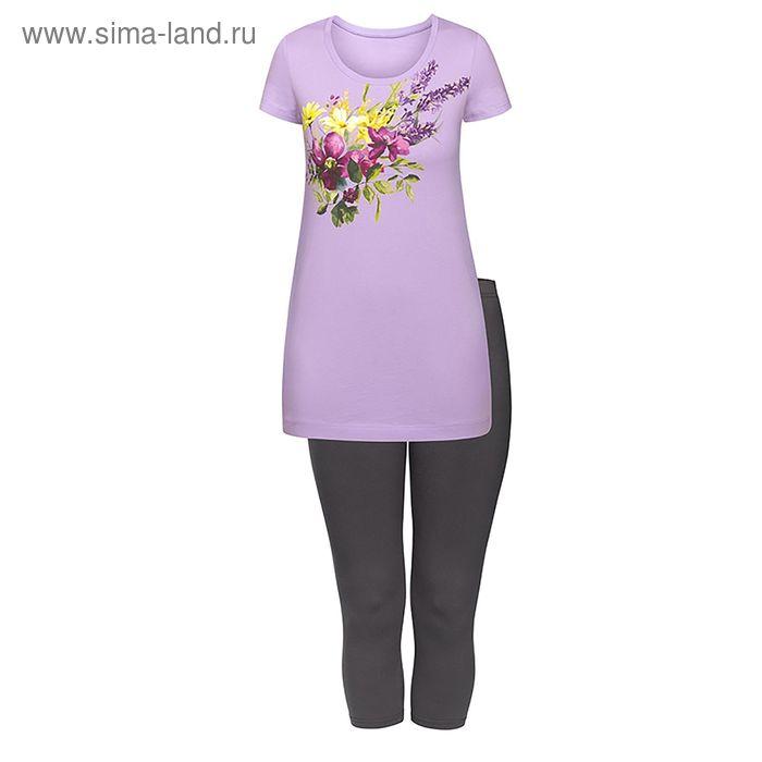 Пижама женская, цвет сиреневый, размер 46 (M) (арт. PML683)