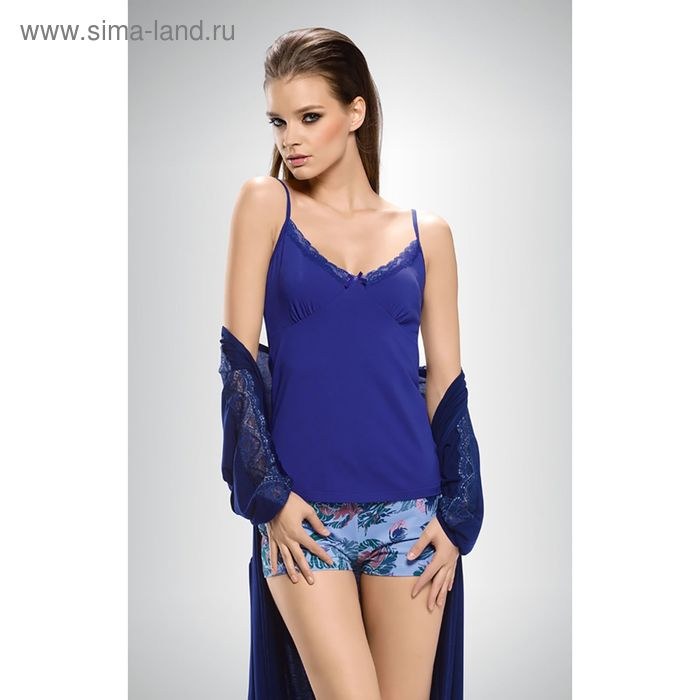 Пижама женская, цвет синий, размер 46 (M) (арт. PVH674/1)