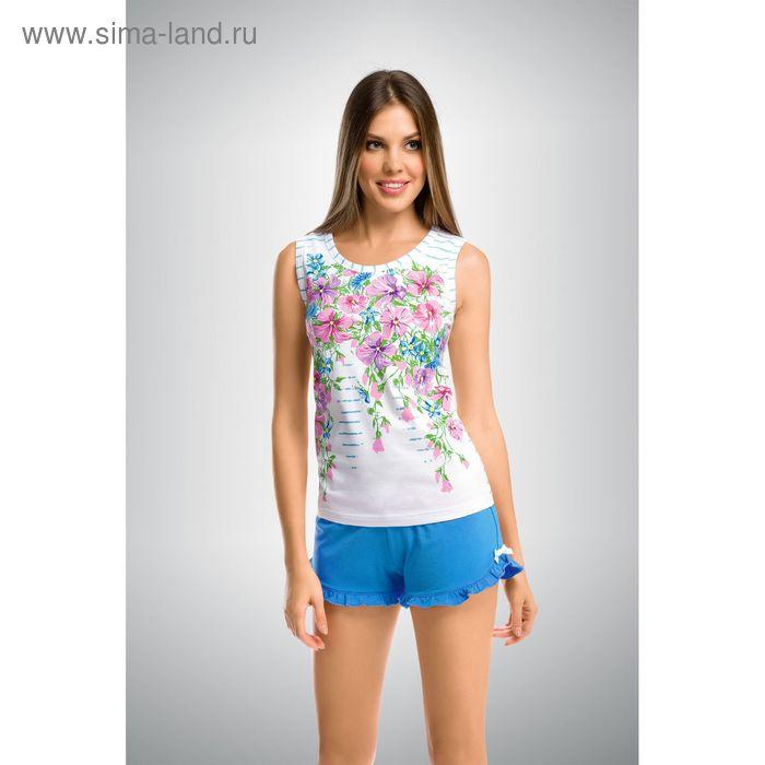 Пижама женская, цвет голубой, размер 42 (XS) (арт. PVH290)