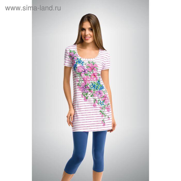 Пижама женская, цвет розовый, размер 46 (M) (арт. PML290)