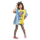 Брюки для девочки, рост 98-104 см, возраст 3 года, цвет мульти