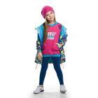 Комплект для девочки, рост 92-98 см, возраст 2 года, цвет розовый