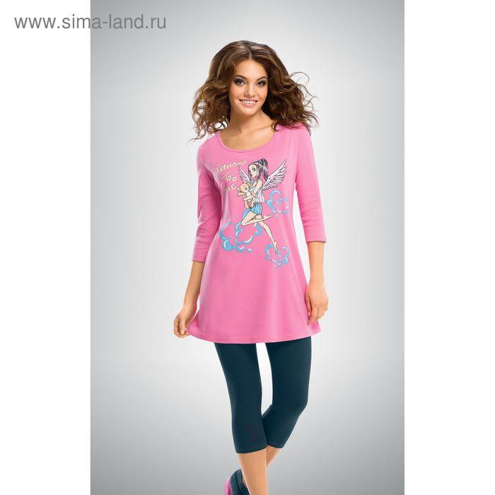 Пижама женская, цвет розовый, размер 46 (M) (арт. PML293)