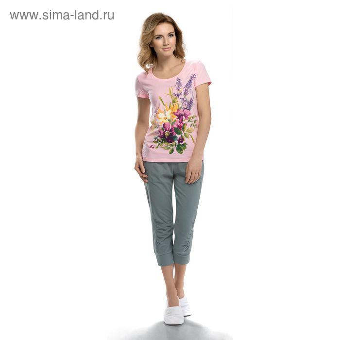 Пижама женская, цвет сиреневый, размер 48 (L) (арт. PTB683)