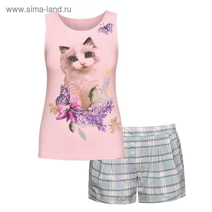 Пижама женская, цвет сиреневый, размер 50 (XL) (арт. PVH683/1)
