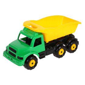 Машинка детская «Самосвал», зелёная