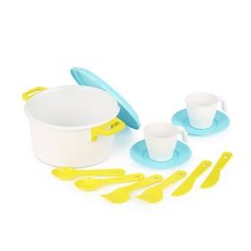 Набор посуды для кукол, «Хозяйка» на 2 персоны