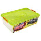 """Ящик для игрушек """"Формула-2"""" с крышкой, 30 л"""