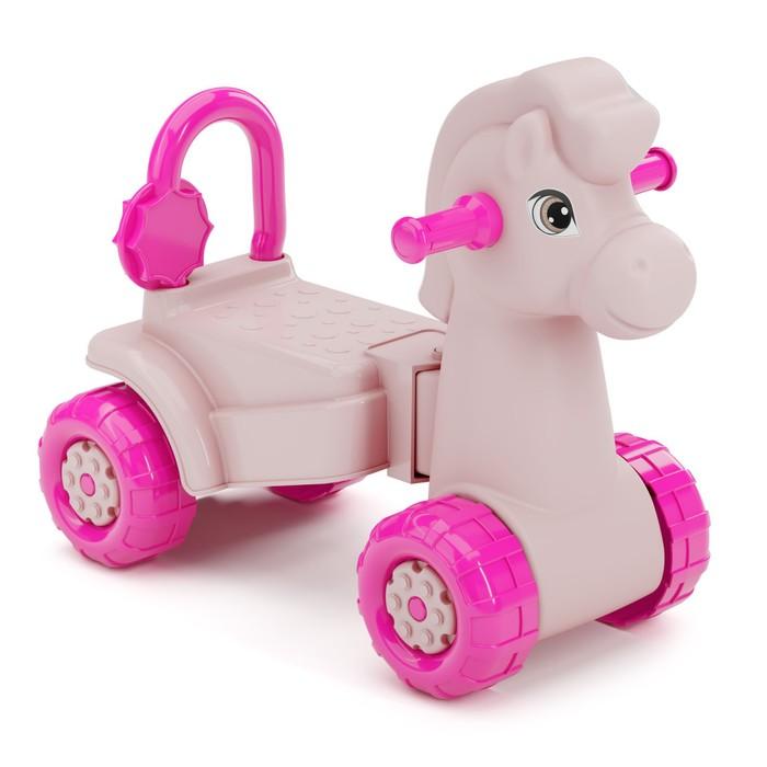 Толокар «Лошадка», розовый