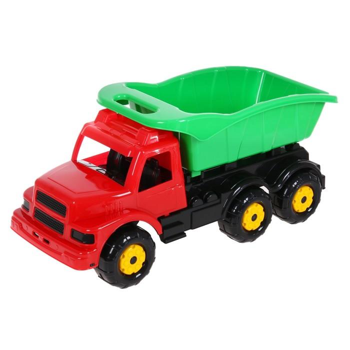 """Машинка детская """"Самосвал"""", цвет красный"""