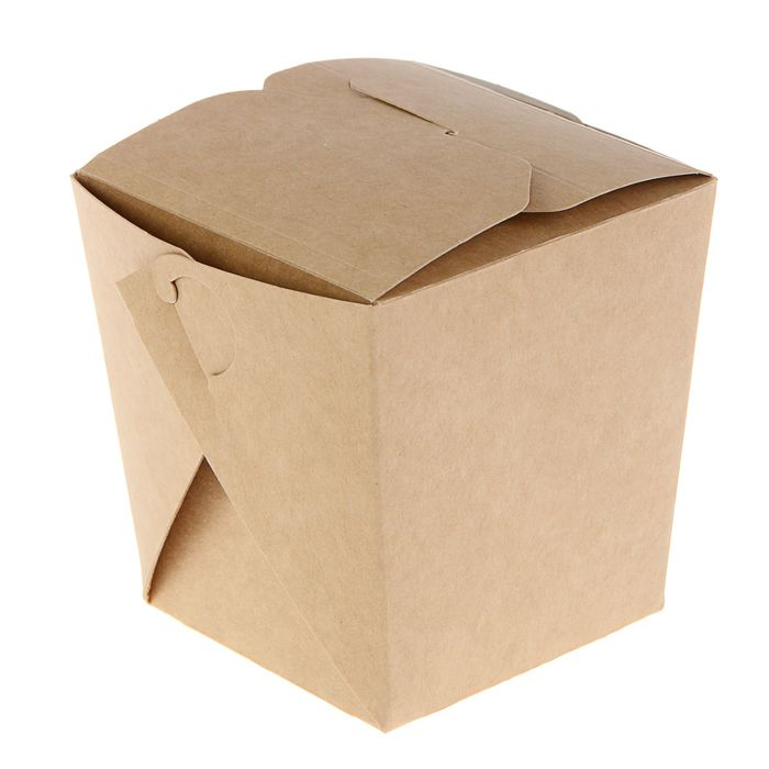 Коробка для лапши, сборная, 10 х 10 х 10,5 см, 0,7 л
