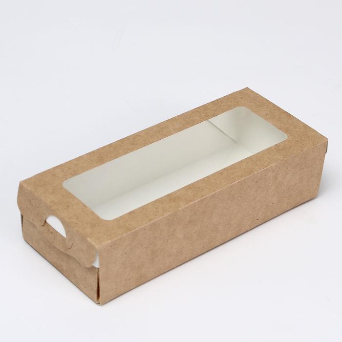 Упаковка для продуктов, пенал 17 х 7 х 4 см, 0,5 л