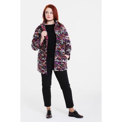 """Пальто женское на синтепоне """"Геля"""", рост 168, размер 48, цвет цифры"""
