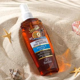 Oil for quick tanning