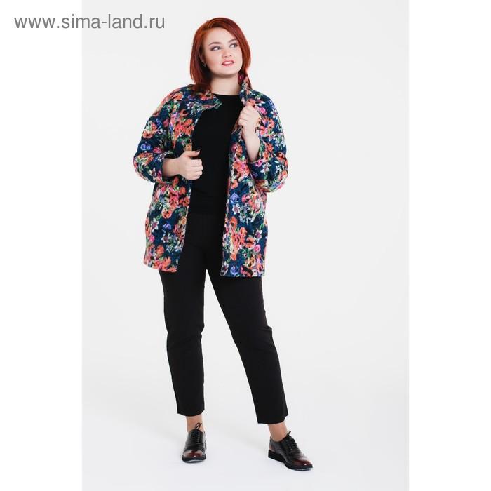 """Пальто женское на синтепоне """"Руслана"""" С+, рост 168, размер 54, цвет оранжевый"""