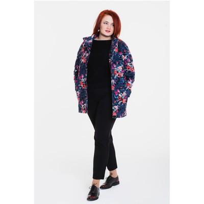 """Пальто женское на синтепоне """"Руслана"""", рост 168 см, размер 50, цвет серый"""