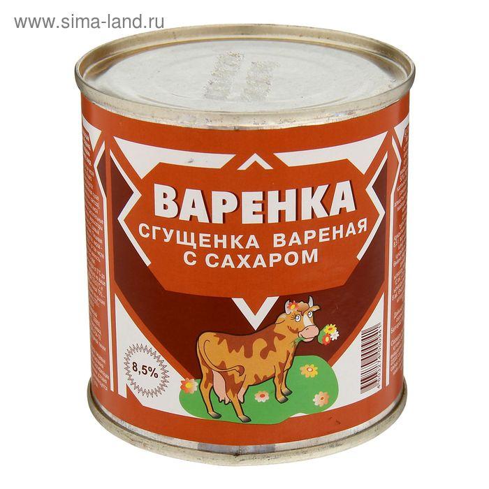 """Молоко сгущенное вареное с сахаром Коровка 8,5% ТМ """"Алексеевское"""", 370 г"""