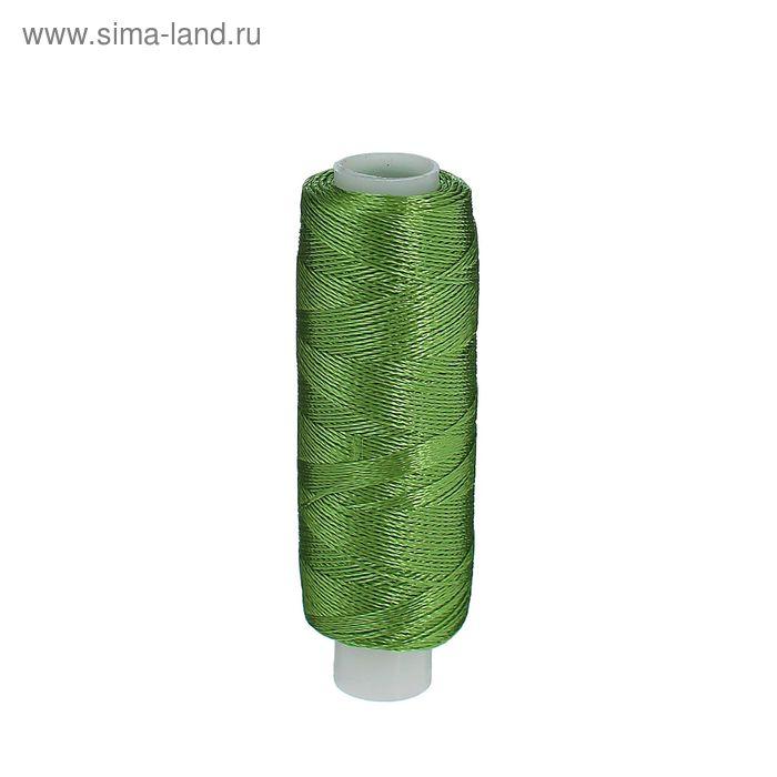 Нитки для вышивания, №3249, 183м, цвет травяной