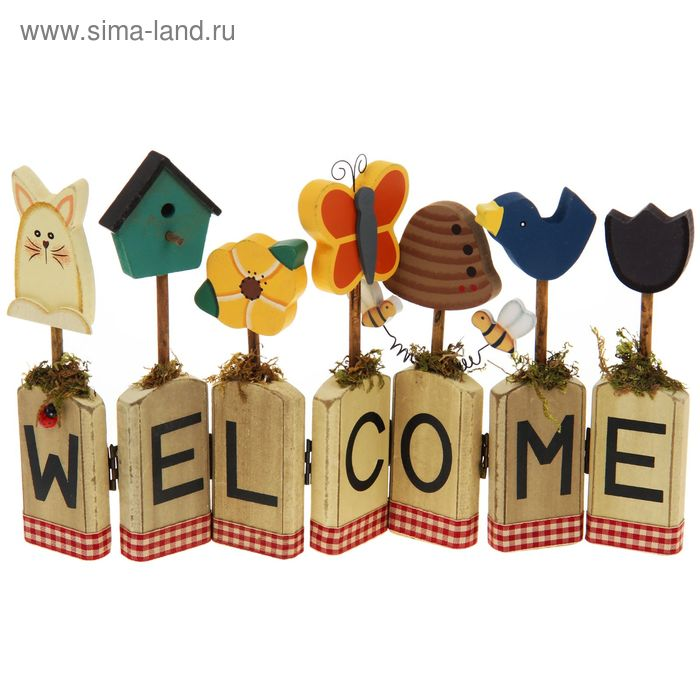 "Декор дачный ""Welcome"" малый"