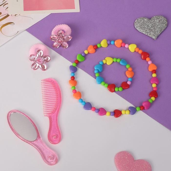 """Набор детский """"Выбражулька"""" 6 предметов, цветной - фото 408656647"""