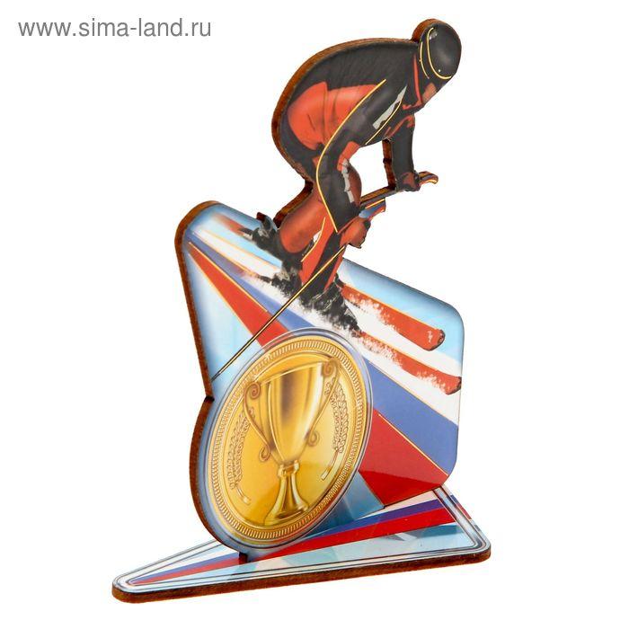 """Награда спортивная """"Лыжник"""""""