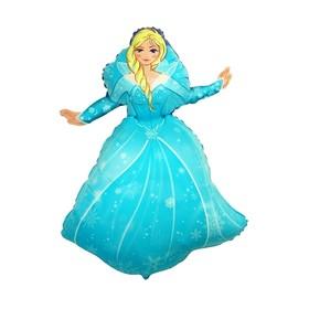 """Шар фольгированный 40"""" «Ледяная принцесса»"""