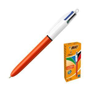 Ручка автоматическая 4 в 1 BIC 4 Сolours Fine (чёрные, синие, красные, зелёные чернила)