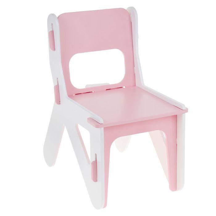 Детский стульчик ДШ №0, цвет розовый