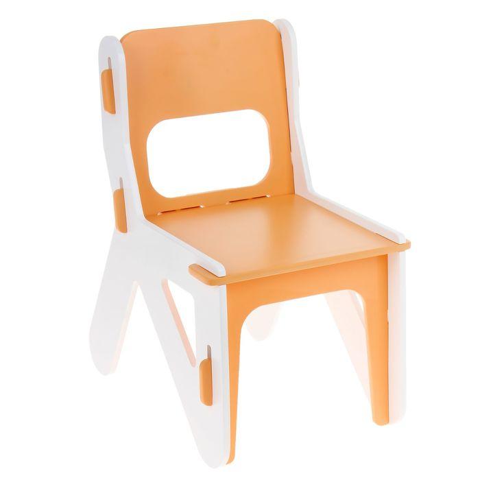 Детский стульчик ДШ №0, цвет оранжевый