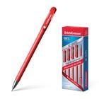 Ручка гелевая G-SOFT,с покрытием Soft Touch, узел-игла 0.38мм, чернила красные, длина линии письма 600м