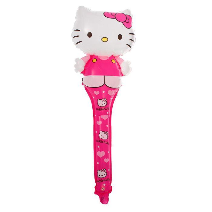 "Шар полимерный 24"" Shake Hello Kitty, бита - фото 304569177"