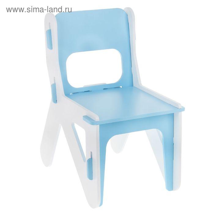 Детский стульчик ДШ №1, цвет голубой