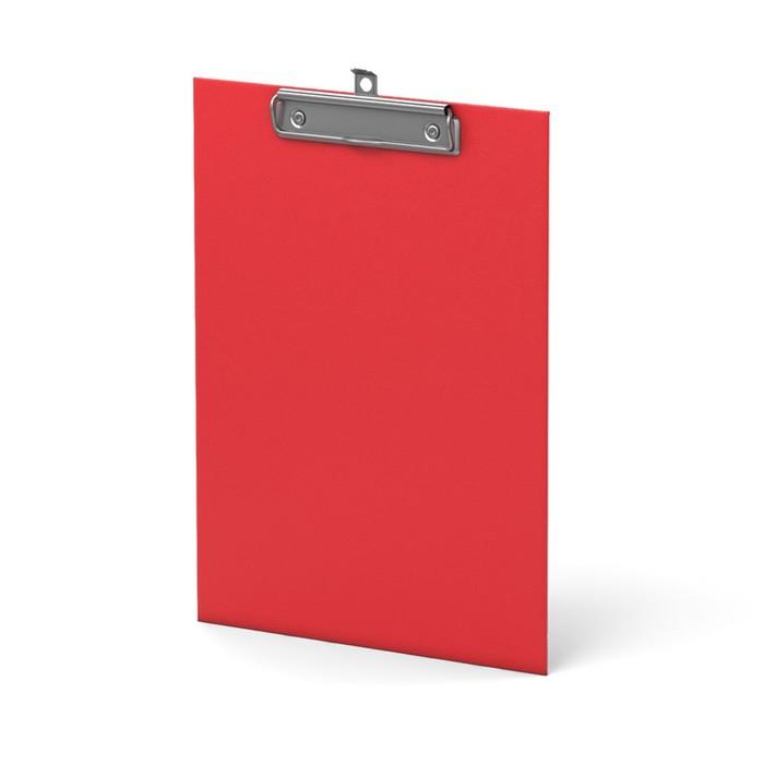 Планшет с зажимом А4 Erich Krause Standard красный, картон 2мм
