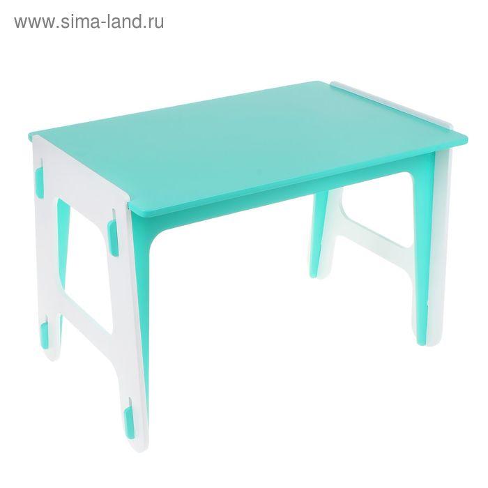 Детский стол ДШ №2, цвет зелёный