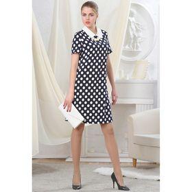 Платье женское, рост 164 см, размер 44, цвет чёрно-белый (арт. 4725)