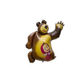 """Шар полимерный 35"""" «Маша и Медведь»"""