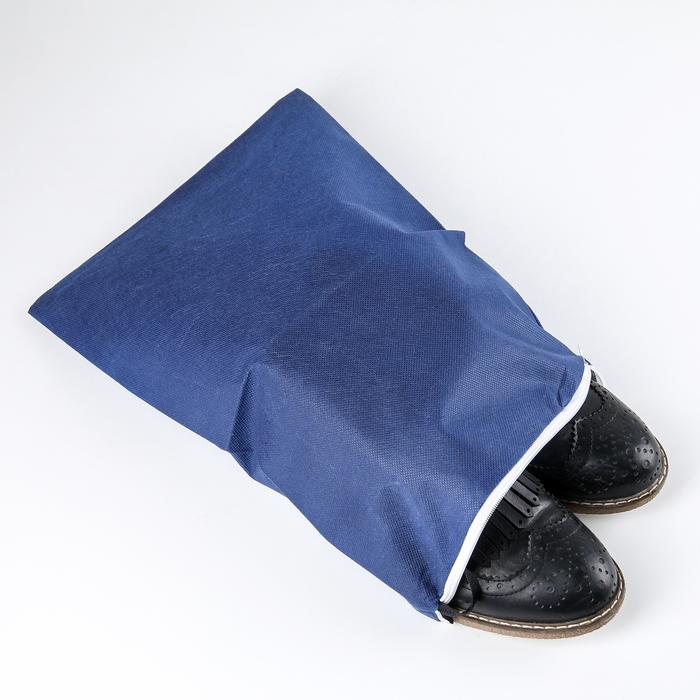 Чехол для обуви 38×26 см, спанбонд, цвет МИКС