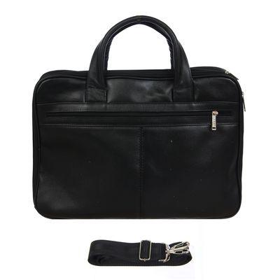 Сумка мужская, ва539-4205, 1 отдел на молнии, 2 наружных кармана, цвет чёрный