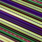 "Paper holographic ""Stripes"", 70 x 100 cm"