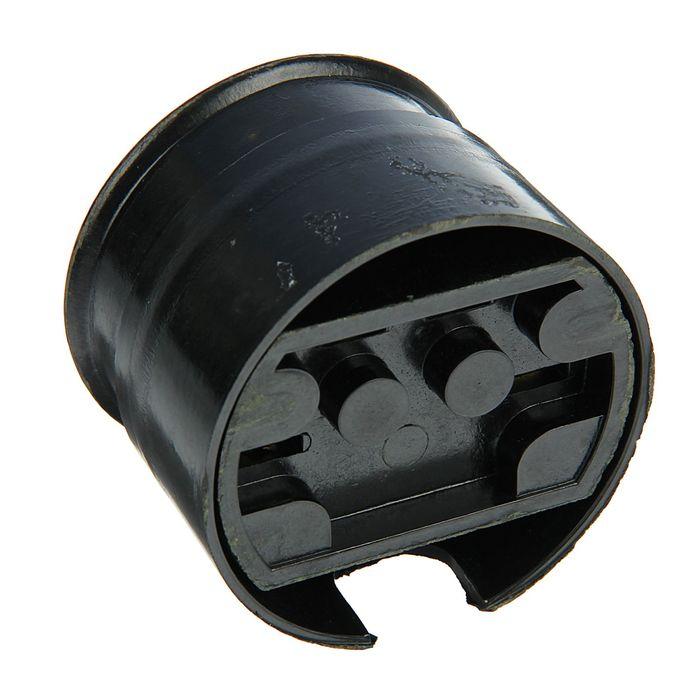 Разъем РШ-ВШ, 25 А, 380 В, черный