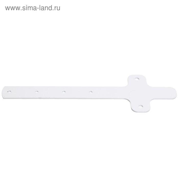Удлинитель кронштейна металлический  белый