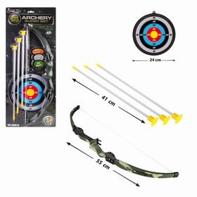 Лук «Меткий стрелок», с мишенью и стрелами на присосках