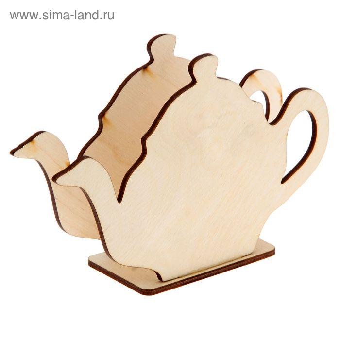 """Салфетница для декора """"Чайник"""" 17х12х6 см (80022)"""