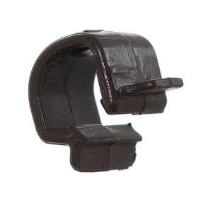 Клипса (1уп-200шт.) коричневый