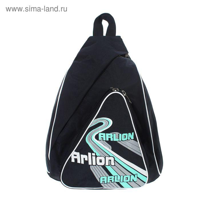 Рюкзак молодёжный на молнии. 1 отдел, 1 наружный карман. чёрный