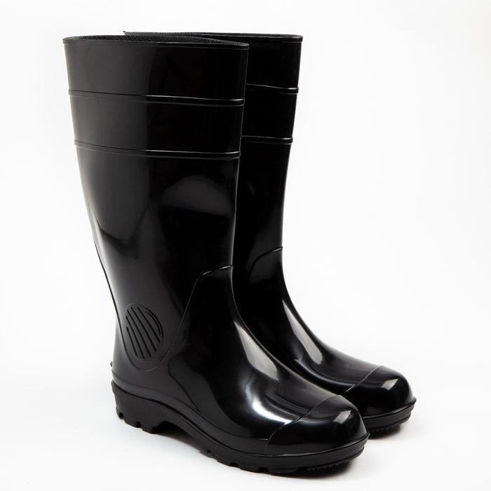 Сапоги мужские, цвет чёрный, размер 45 - фото 1640456