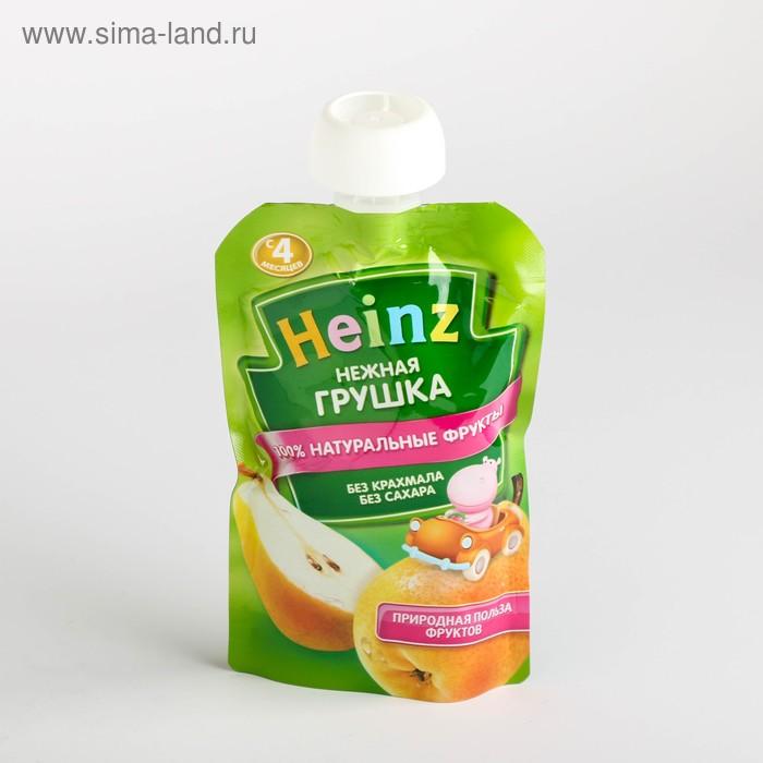 Фруктовое пюре Heinz нежная грушка, пауч 100 г
