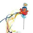 """Набор для создания летней игрушки """"Кот на самолете """" + декор"""