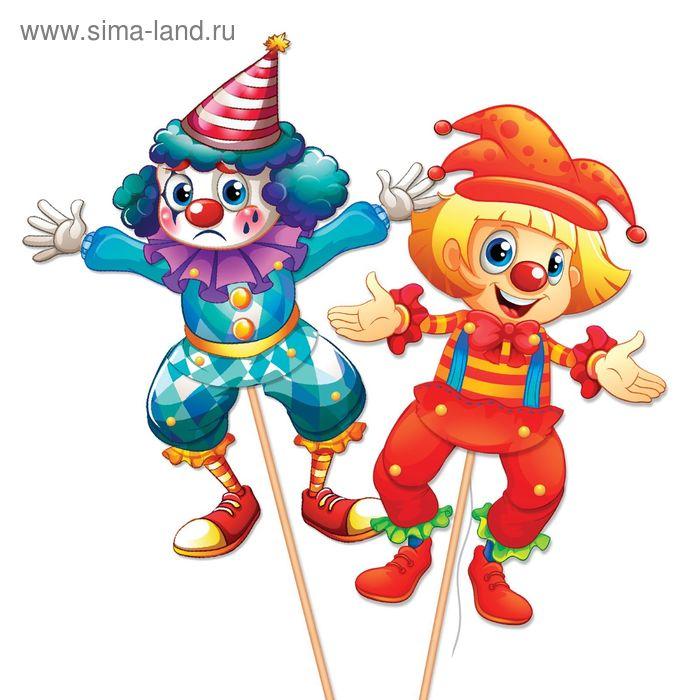 """Набор для творчества """"Клоуны"""" для создания игрушек-дергунчиков"""